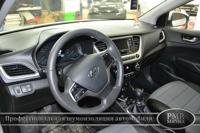 Шумоизоляция Hyundai Solaris, изображение №17