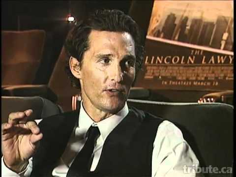 Matthew McConaughey -- The Lincoln Lawyer Interview