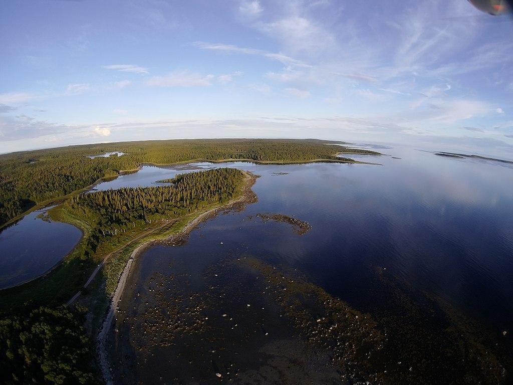 Соловецкие острова. Каменные лабиринты