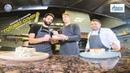 Савелий Козлов и Артём Кулишев готовят новогодний салат Оливье