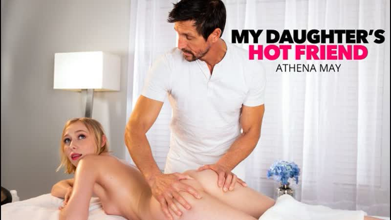 My Daughters Hot Friend Athena May Gets Happy Ending Massage from Friend s