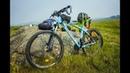 400км по Хакасии на велосипедах Часть 1 Путь в Pri