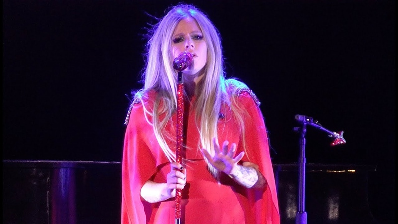 Avril Lavigne I'm With You live Fox Theater Oakland CA Sept 17 2019 4K UHD