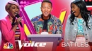 Khalea Lynee and Zoe Upkins' Duet Splits the Coaches but It's Up to John The Voice Battles 2019