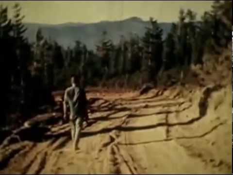 Rene Dahinden's Blue Creek Mountain Bigfoot Trackway Footage