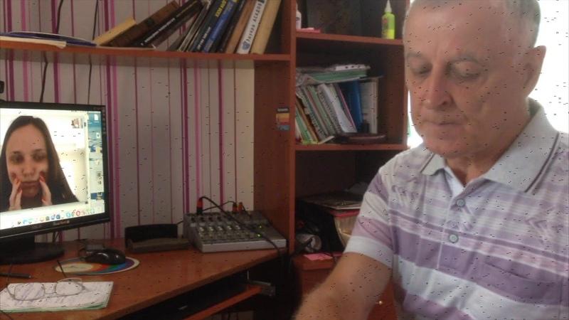 Урок вокала по скайпу 19 07 2018 Сет Риггс Николай Кузьмичев, упр 1, 3 и 23