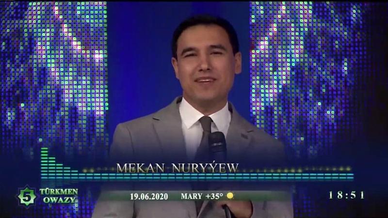 Mekan Nuryyew Yuregimin owazy Konsert