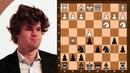 Magnus Carlsen's fighting Sveshnikov Sicilian || Cheparinov vs Carlsen || Corus B (2005)