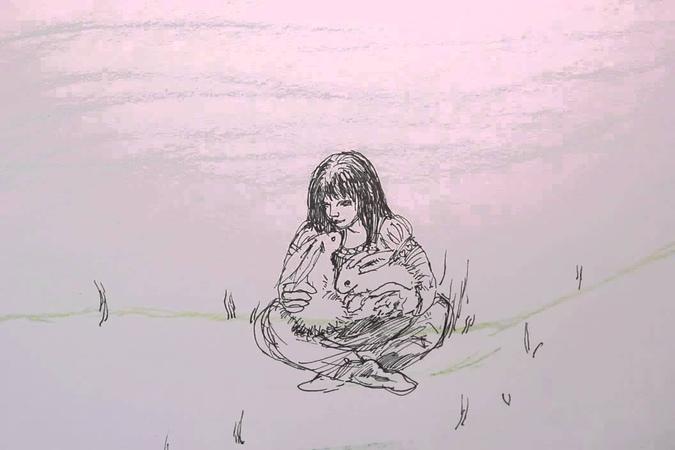 Lente me Nicoline Lesanka animation