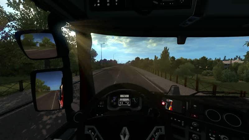 ETS 2 1.36 Road to the Black Sea Multiplayer - вторая поездка