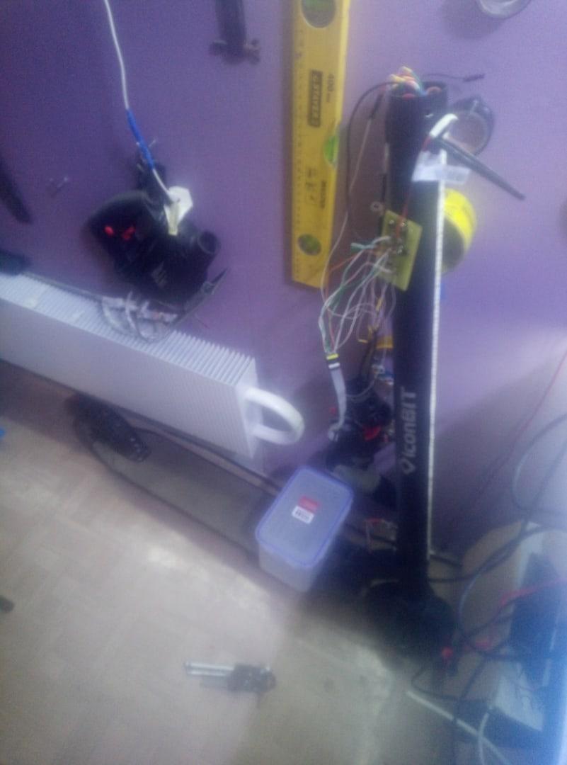 Переделка самоката на базе iconbit kick scooter tt v2