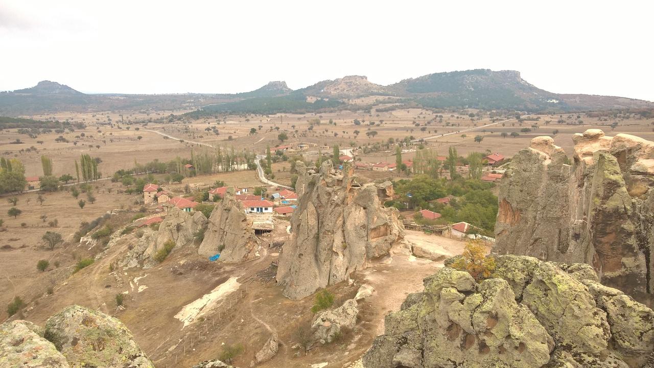 Вид с вершины древнего города Мидас