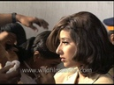 Manisha Koirala and Sanjay Dutt film for Khauff rare behind the scenes footage