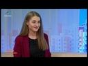 Библиотекарь Екатерина Ломкина в гостях у НСТ