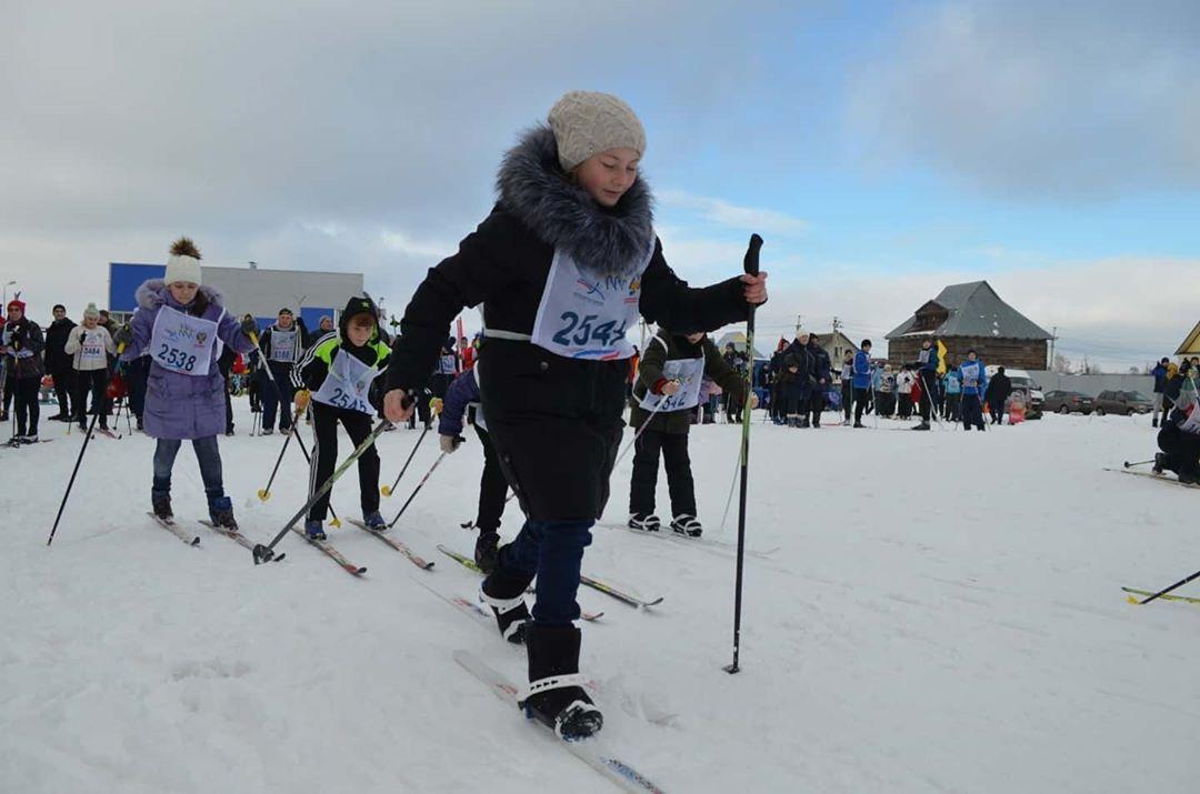 В Петровске прошёл районный этап «Лыжни России — 2020»