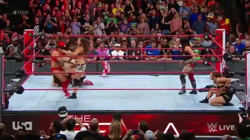 The Bella Twins Save Ronda Rousey