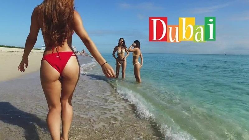 [4K] Jumeirah Public Beach Dubai - May 2019