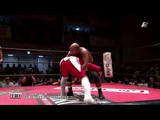 Jushin Thunder Liger & The Great Sasuke vs Shinjiro Otani & Tatsuhito Takaiwa (ZERO1 Fire Festival 2019 - Tag 14)