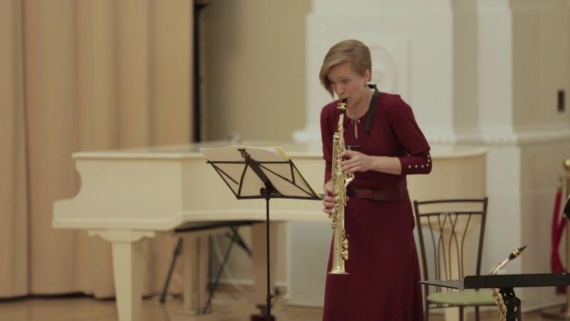 К.Ф.Э.Бах Соната соль-минор Н.524.5, Allegro (Юлия Глазкова, орган и Серафима Верхолат, саксофон).