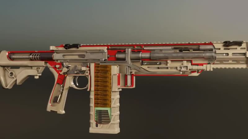 Штурмовая винтовка Textron AAI NGSW R