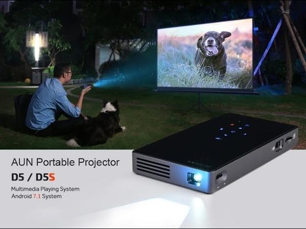 Портативный проектор с Aliexpress   AUN PORTABLE PROJECTOR