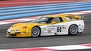 Chevrolet Corvette C5 R V8 Roar in action OnBoard Warm Up Fly Bys!