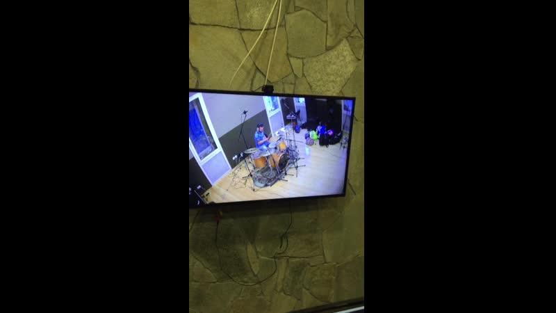 запись барабанов