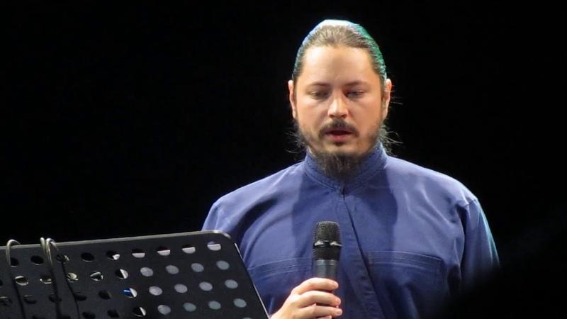 Иеромонах Фотий. Panis Angelicus. Концерт в Санкт-Петербурге 11.11 2019