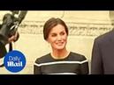 Queen Letizia of Spain looks elegant whilst in official visit in Peru