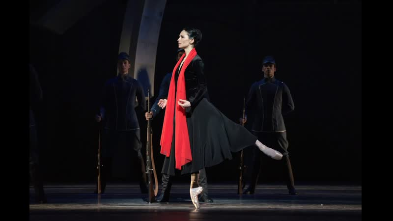 Mata Hari choreography by Ted Brandsen Anna Tsygankova Casey Herd Josef Varga Artur Shesterikov Dutch National Ballet