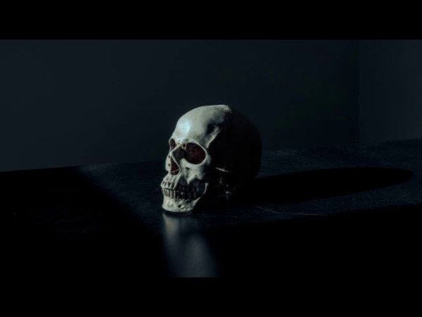 She died Dark organ music