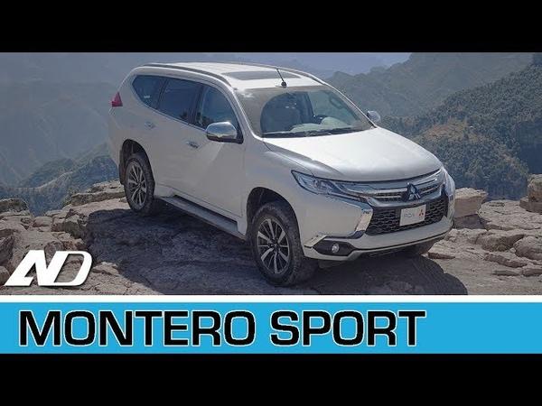 Mitsubishi Montero Sport - Uno de los autos más raros que he manejado - Primer Vistazo
