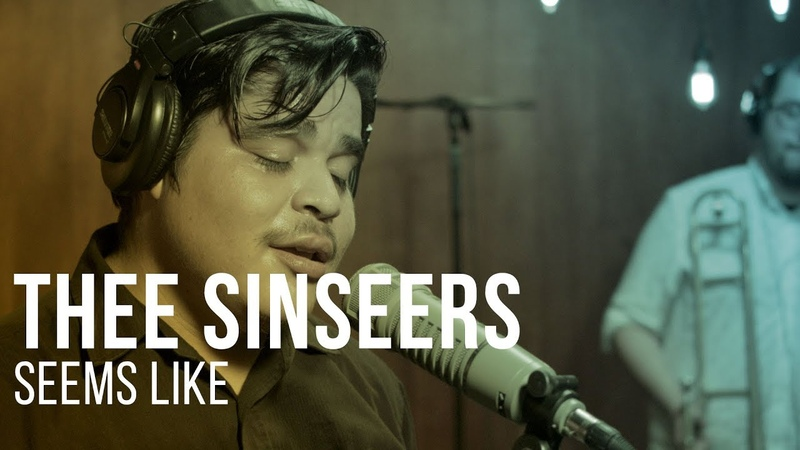 Thee Sinseers - Seems Like - Live at The Recordium