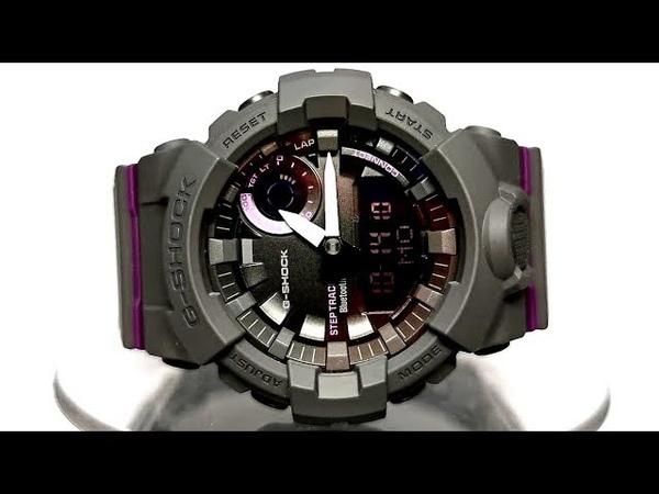Casio G-SHOCK GMA-B800-8A Module 5555 Bluetooth smart watch 2019