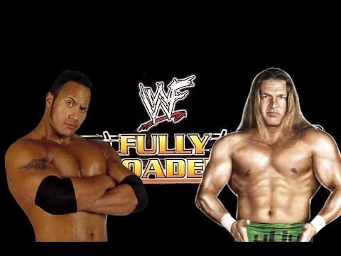 WWE 2K19 Triple H vs The Rock, Fully Loaded '99, Iron Man Match