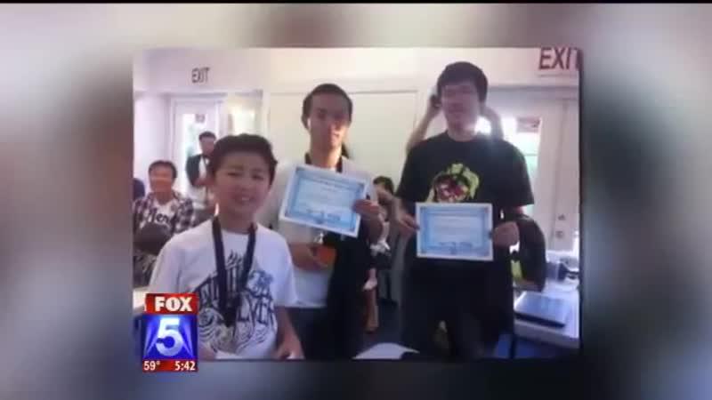 Самый быстрый игрок в кубик Рубика с диагнозом аутизм