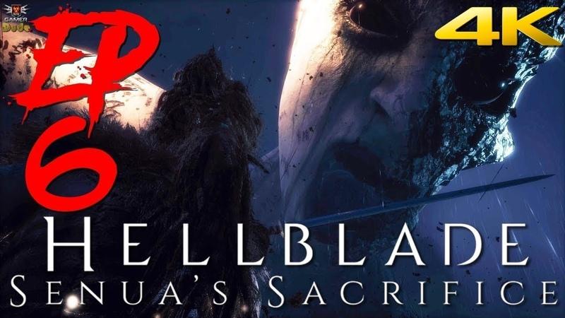 Hellblade Senua's Sacrifice Прохождение Эпизод 6 Первая встреча с Богиней Смерти Хель