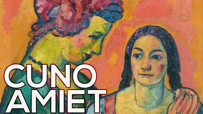 Cuno Amiet A collection of 106 works (HD)