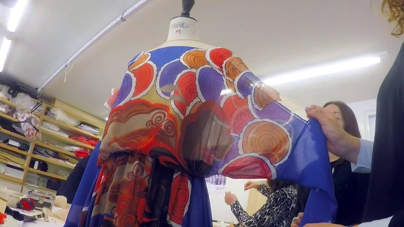 HOW A SCHIAPARELLI COUTRE GOWN IS MADE One Look The Fitting