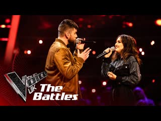 Brian Corbett vs Cameo Williams - Eternal Flame (The Voice UK 2020)