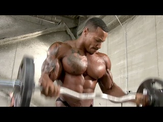 Heavy Bicep Curls - Patrick Moore - Bodybuilding Motivation