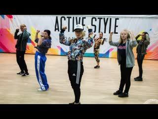 Танцы хип-хоп от 16 лет - школа танцев active style