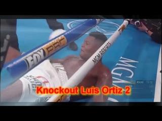 Deontay Wilder vs  Luis Ortiz 2 knockout | Дионтэй Уайлдер и Луис Ортис 2 нокаут