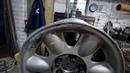 TIG сварка и токарная обработка литого алюминиевого автомобильного диска Лиепая