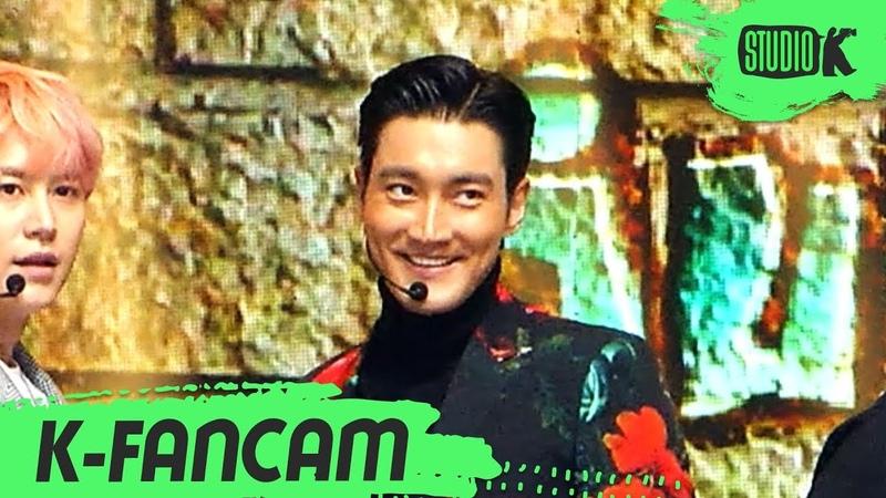 [K-Fancam] 슈퍼주니어 시원 직캠 'SUPER Clap' (SIWON Fancam) l @MusicBank 191018