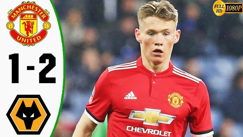 Manchester United vs Wolverhampton 1-2 - Highlights Goals Resumen Goles 2019 HD (Last Match)