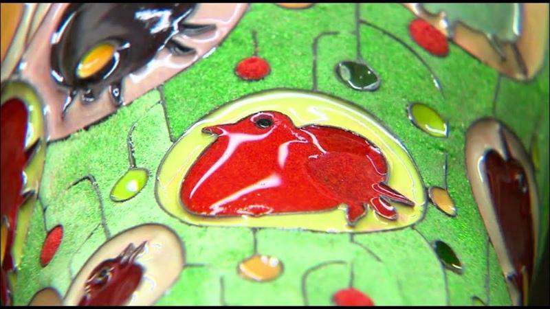 Искусство росписи эмалью в Китае