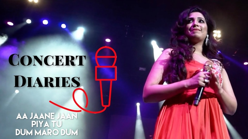 Concert Diaries - Shreya Ghoshal Live with Symphony, Oracle Arena | Feat. Kinjal Chatterjee