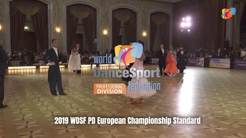 2019 WDSF PD European Championship Standard I Semi Final I Chisinau, MDA
