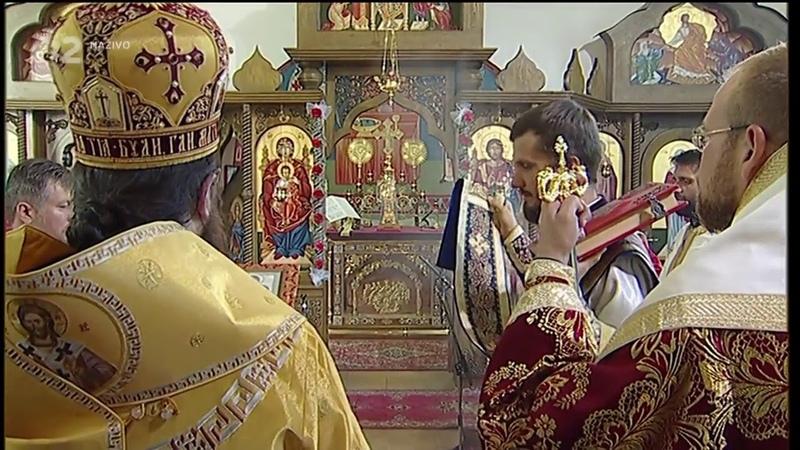 Prenos pravoslávnej bohoslužby Словаччина православна церква ізвод церковнословянської майже як київський